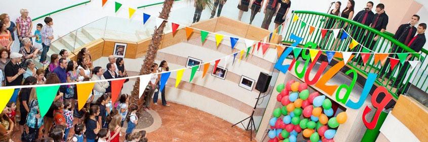 Performing students in Malta at Ziguzajg Fringe